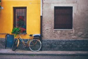 Orange Bycicle